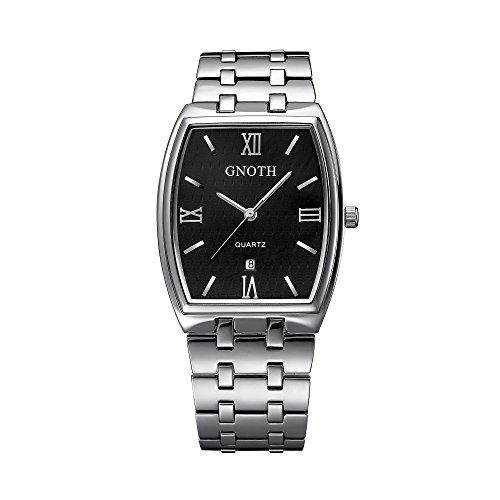gnoth-unisex-black-minimalist-rectangular-watch-with-date-roman-numeral-big-face