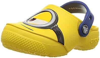 crocs Unisex's Funlab Minions Yellow Clogs-C12 (204113-730)