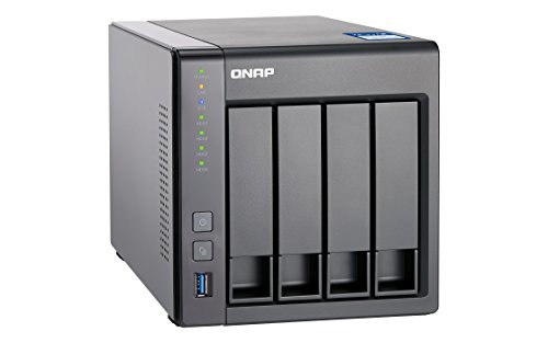 Best Price QNAP TS-431X-8G 4 Bay Desktop NAS Enclosure with 8 GB RAM on Amazon