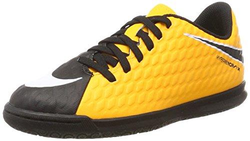 NIKE Unisex-Kinder Jr. Hypervenomx Phade III IC Fußballschuhe, (Laser Orange Black Volt), 38 EU