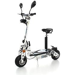 SXT500 EEC Elektro Scooter weiß Blei Akk