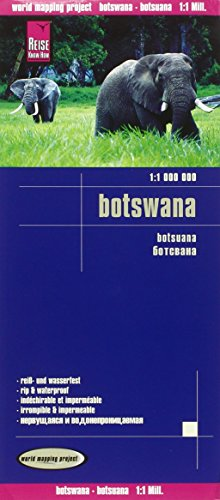 Reise Know-How Landkarte Botswana (1:1.000.000): world mapping project