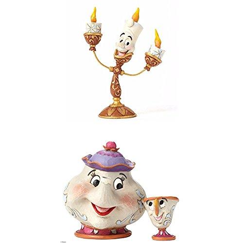 La La (Lumiere Figur) + Disney Tradition A Mother's Love (Mrs. Potts & Chip Figur) ()