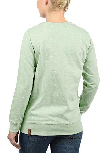 BLEND SHE Polly - Sweat-Shirt - Femme Subtle Green (23011)