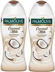 Palmolive Shower Gel Gourmet Coconut, 2 x 500 ml