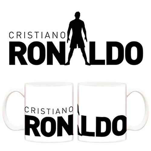 Taza Real Madrid Cristiano Ronaldo silueta