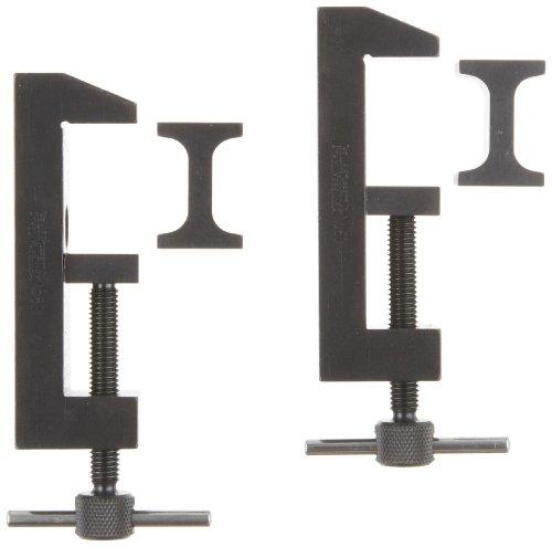Starrett 160Werkzeugmacher 's Stahl Klammer, 5,1cm Kapazität