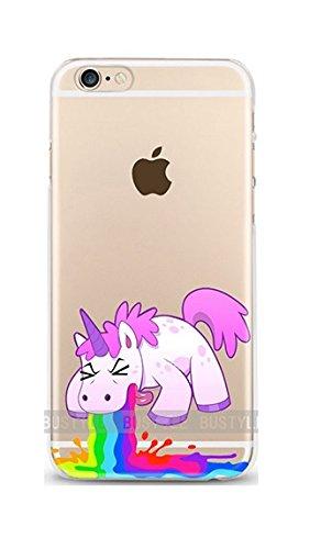 Casetic | iPhone 5, 5S Schutzhülle Einhorn TPU Hülle Cover Handyhülle Bumper leichte Handytasche...