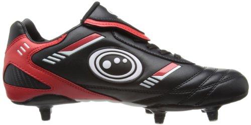 Optimum Mens Tribal Football Boots FBTLBS8 Black Red 8 UK  42 EU