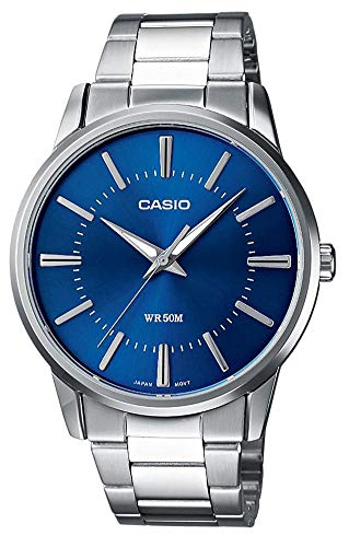 Casio Collection Herren Armbanduhr MTP-1303PD-2AVEF, Blau