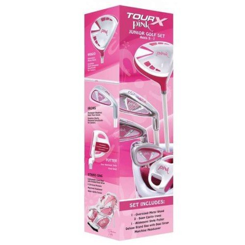 merchants-of-golf-tour-x-pink-5-piece-junior-golf-complete-set-with-stand-bag-left-hand-5-7-age-grap