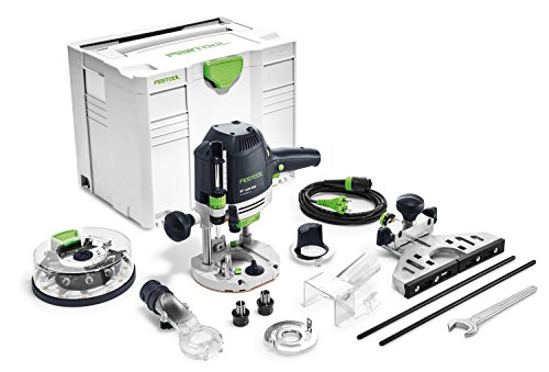 Festool OF 1400 EBQ-Plus + Box-OF-S 8/10x HW - Fresadora