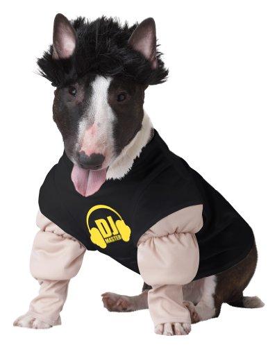 Dj Kostüm Hund Pawly (Hund Dj Kostüm)