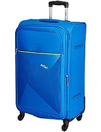 Safari Polyester 79 cms Blue Softsided Check-in Luggage (PRISMA754WBLU)