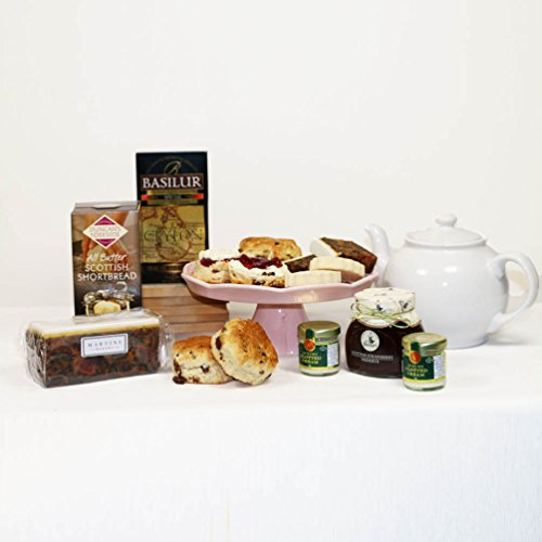 Afternoon Cream Tea Hamper Gift Box - FREE UK Delivery Guaranteed in Time for Mother's Day