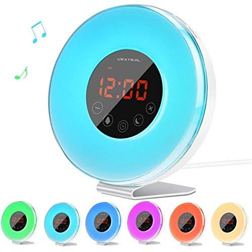ZHOUMIN Relojes Relojes Inteligente Dormitorio Multifuncional