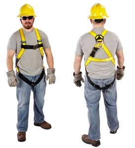 MSA – 10072483 – Full Body Harness, Standard, gelb (Msa-harness)