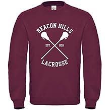 Beacon Hills Stilinski 24Front & Back Jumper Sweater Teen Wolf inspirada en TV Movie Ventilador sudadera Popular alta calidad Maglia jersey