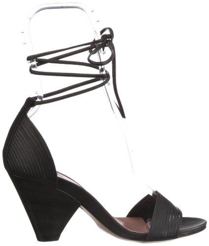 Fornarina KISS ME PEFKM8078WCA, Damen Fashion-Sandalen Schwarz (black 0000)