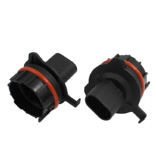 sourcing map 2PCS H7 Hid Xenon Glühbirne Halter Adapter Halterung für E39-1 DE de -
