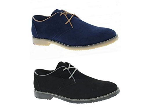 Mens LS210 Cushion Walk Faux Suede Lace Up Fashion Brogues Casual Formal Office Work Shoe Size 7-11