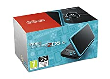 Nintendo Handheld Console - New Nintendo 2DS XL - Black and Turquoise (Nintendo 3DS)