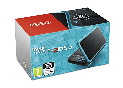 Compare Nintendo Handheld Console - New Nintendo 2DS XL - Black and Turquoise (Nintendo 3DS) prices