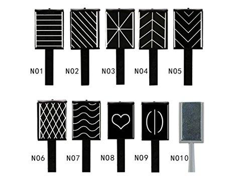 Omeny 10 Pcs Placa placa varita Placa herramienta