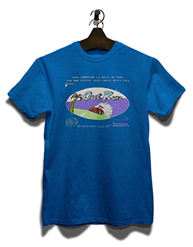 Outrun T-Shirt Royal Blau