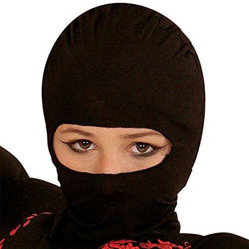 a Maske Sturmhaube schwarz Krieger Sturmmaske Samurai Augenmaske ()