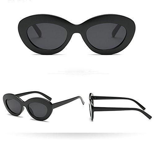 WUDUBE Rapper Sonnenbrille, transparente personalisierte Brille im ()