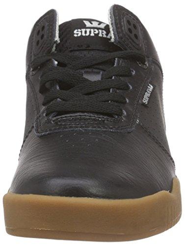 Supra Ellington, Sneakers Basses mixte adulte Noir (BLACK - GUM BGM)
