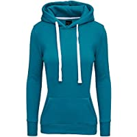 MERISH Damen Kapuzenpullover Longshirt Hoodie Modell 230