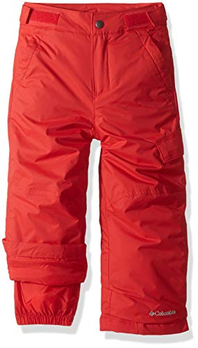 Columbia Wasserabweisende Skihose für Jungen, Ice Slope II Pant, Nylon, Rot (Red Spark), Gr. S, 1523671 Columbia Ice