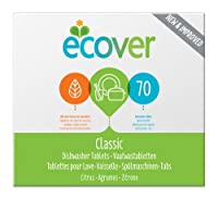 Ecover Dishwasher Tablets Pack Of 70