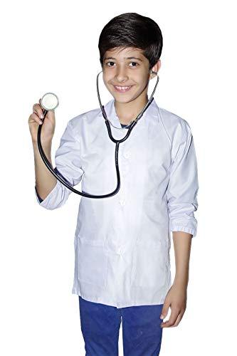 nder Arzt Wissenschaftler White Lab Surgeon Krankenhaus Mantel Buchwoche Tag Kost�m 5-6 Jahre ()