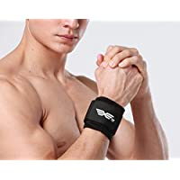 Compression Velcro Wrist Strap Support for Gym,Weight Bearing Strain, Basketball Weight Lifting Sports