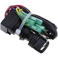 KESOTO Interruptor de Llave de Encendido para Yamaha 40hp 60hp Motor Fuera de Borda