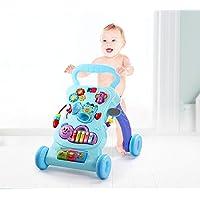 Baby Walker Baby Event Rollover Multifunción con carrito de música soporte de aprendizaje bebé andador juguete