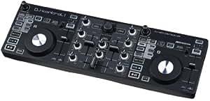 JBsystems Kontrol One Contrôleur DJ USB MIDI multifonctions avec égaliseur 3 bandes (section Loop/Reloop, Cue, Pitch, fonction Shift...)- livré avec logiciel Virtual DJ LE