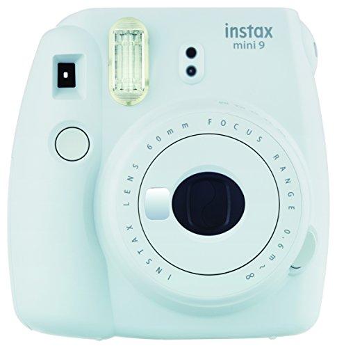 Foto Fujifilm Instax Mini 9 Fotocamera Istantanea per Foto Formato 62x46 mm, Bianco(Smokey White))