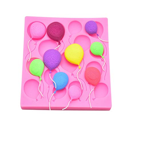 VICKY-HOHO 3D Ballon Muster silikonform Fondant Kuchen dekor Werkzeug schokoladenform Form