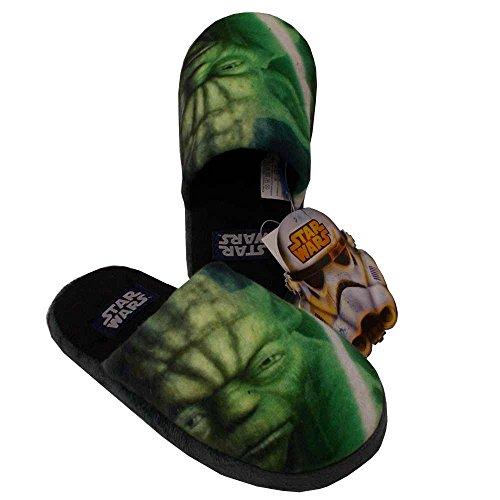 Disney-Zapatillas-de-estar-por-casa-para-nio-Verde-verde