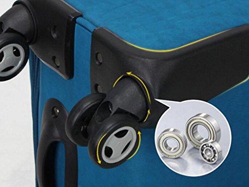 Männlich Ultra-light Oxford Tuch Trolley Case Caster Gepäck Taschen Koffer, 28/24/20 Zoll Optional ( Farbe : 5 , größe : 20 inches ) 1