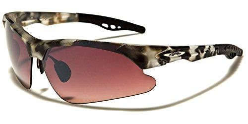 X-Loop Herren Sonnenbrille Mehrfarbig BROWN CAMO/BROWN LENS