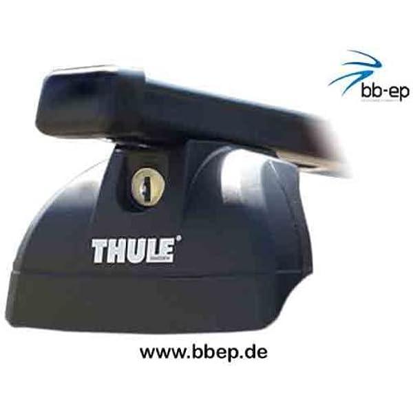 Thule Stahldachträger 90433843 Komplett System Inkl Schloss Für Ford S Max Mit Fixpunkten Ohne Glasdach Inkl 1 L Kroon Oil Screenwash Auto