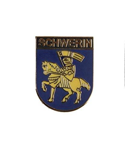 Yantec Wappenpin Schwerin 20mm Pin Anstecknadel