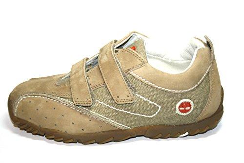 Timberland , Chaussures de ville à lacets pour garçon Beige Beige Beige - Moos/Braun