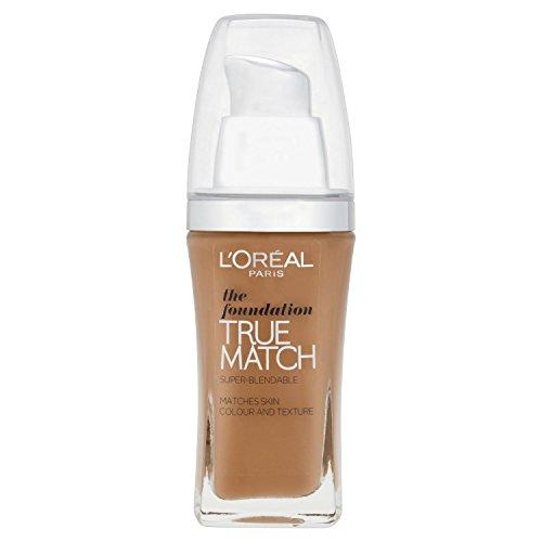 L'Oréal Paris True Match Foundation/Grundierung, Golden Amber Nr. W7, 30ml