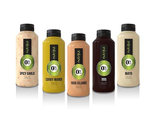 Nutriful Saucen, 5er-Pack, komplett hCG-Diät-geeignet (Teller-sauce)